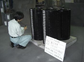 レジンコンクリート製品の製造と加工